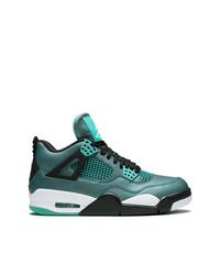 Baskets montantes bleu canard Jordan