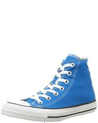 Baskets montantes bleues Converse