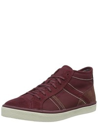 Baskets montantes bordeaux Esprit