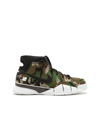 Baskets montantes camouflage multicolores Nike