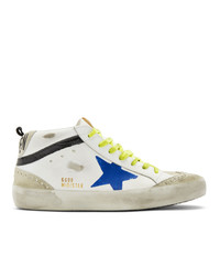 Baskets montantes en cuir blanches Golden Goose