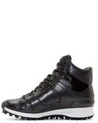 Baskets montantes en cuir noires 3.1 Phillip Lim