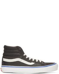 Acheter baskets montantes gris foncé femmes Vans | Tenue ...