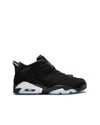 Baskets montantes en daim noires Jordan