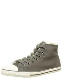 Baskets montantes grises Converse