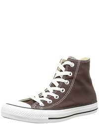 Baskets montantes marron Converse