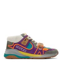 Baskets montantes multicolores Gucci