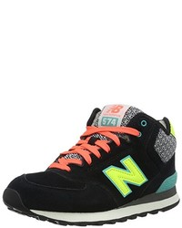 Baskets montantes noires New Balance