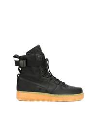 Baskets montantes noires Nike