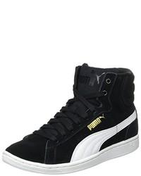 Baskets montantes noires Puma