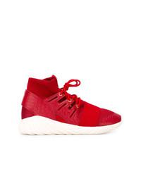 Baskets montantes rouges adidas