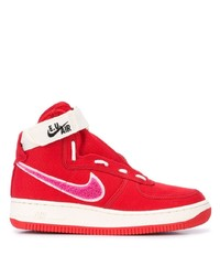 Baskets montantes rouges Nike