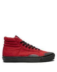 Baskets montantes rouges Vans