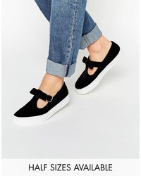 Baskets noires Asos