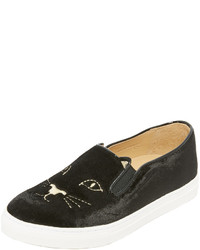 Baskets noires Charlotte Olympia