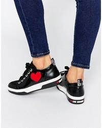 Baskets noires Love Moschino