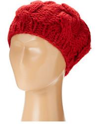 Béret en tricot rouge San Diego Hat Company