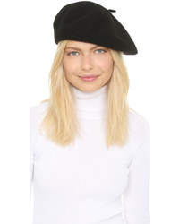Béret noir Hat Attack