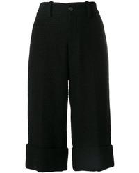 Bermuda en tweed noir Gucci