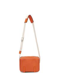 Besace en cuir orange Loewe