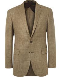 Blazer à carreaux brun clair Polo Ralph Lauren