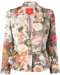Blazer à fleurs multicolore Vivienne Westwood