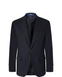 Blazer à rayures verticales bleu marine Polo Ralph Lauren