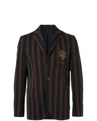 Blazer à rayures verticales multicolore Kent & Curwen