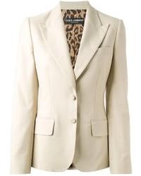 Blazer beige Dolce & Gabbana