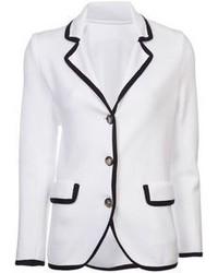 Blazer blanc et noir original 3144399
