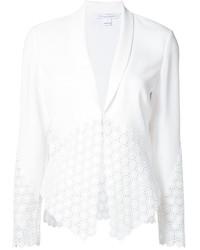 Blazer blanc Diane von Furstenberg