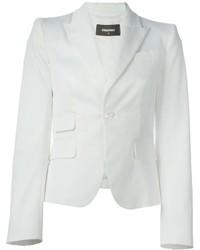 Blazer blanc Dsquared2