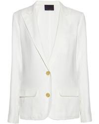 Blazer blanc Lanvin