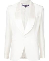 Blazer blanc Ralph Lauren