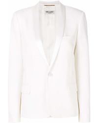 Blazer blanc Saint Laurent