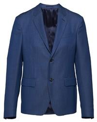 Blazer bleu marine Prada