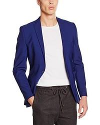 Blazer bleu marine Selected