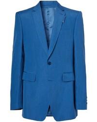 Blazer bleu Burberry