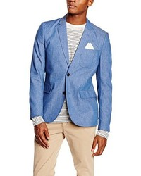 Blazer bleu CASUAL FRIDAY