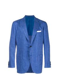 Blazer bleu Kiton