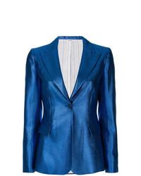Blazer bleu P.A.R.O.S.H.