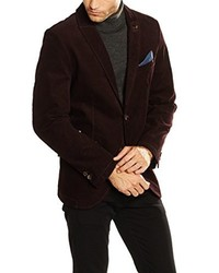 Blazer bordeaux camel active