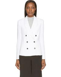 Blazer croisé blanc CNC Costume National