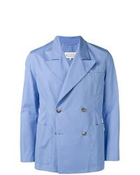 Blazer croisé bleu clair Maison Margiela