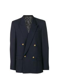 Blazer croisé bleu marine Givenchy