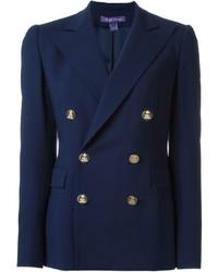 Blazer croisé bleu marine Ralph Lauren