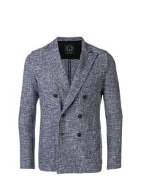 Blazer croisé bleu T Jacket
