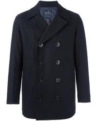Blazer croisé en laine bleu marine Brooks Brothers