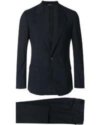 Blazer croisé en laine noir Dolce & Gabbana