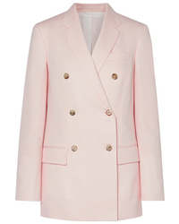 Blazer croisé en laine rose Calvin Klein 205W39nyc